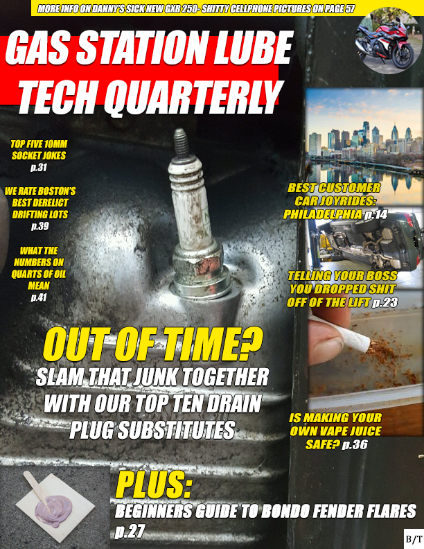gas station lube tech quarterly